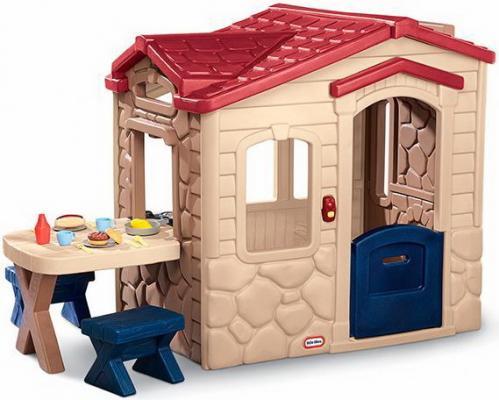 Игровой домик Little Tikes Пикник с красной крышей