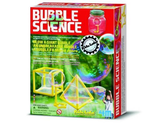 Игровой набор 4M Волшебные пузыри от 8 лет 16 предметов 00-03351