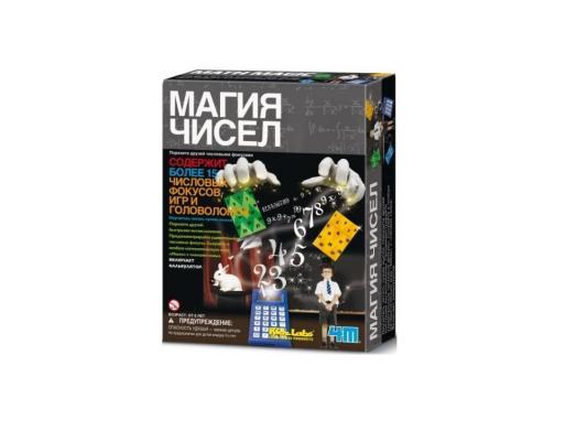 Игровой набор 4M Магия чисел от 8 лет 00-03293 4m 4m электростатическая магия
