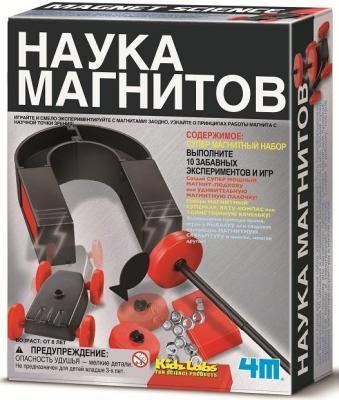 Игровой набор 4M Наука магнитов от 8 лет 00-03291