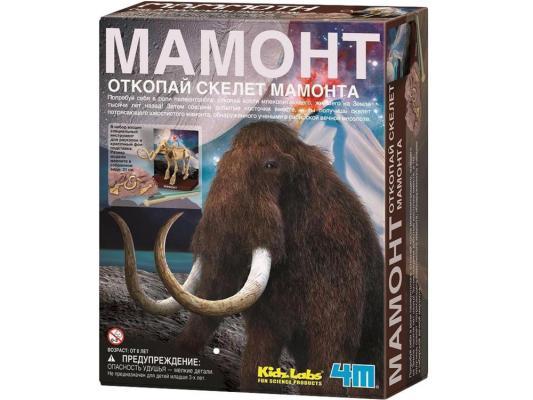 Игровой набор 4M Скелет Мамонта от 7 лет 23 предмета 00-03236