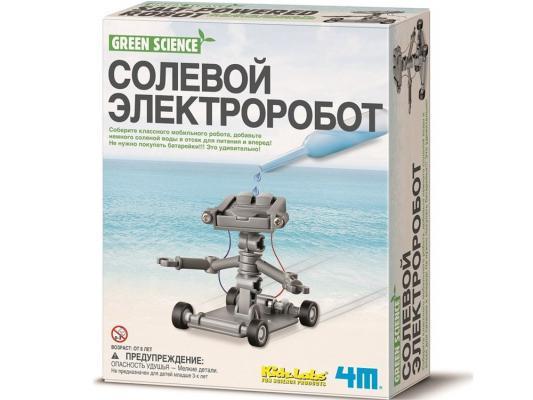 Игровой набор 4M Солевой электроробот от 8 лет 00-03353
