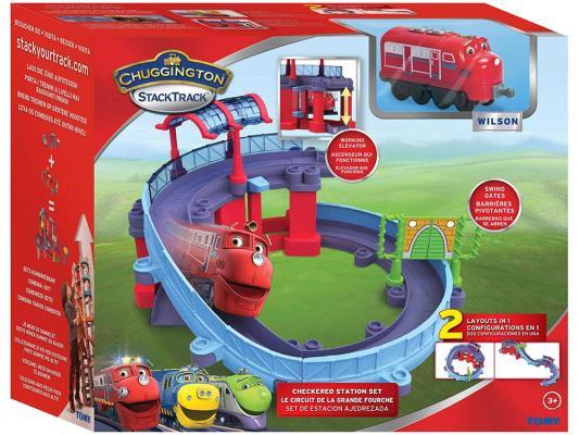 """Игровой набор Chuggington Stack Track """"Чаггингтон"""" - Станция техосмотра с Уилсоном от 3 лет LC54237"""