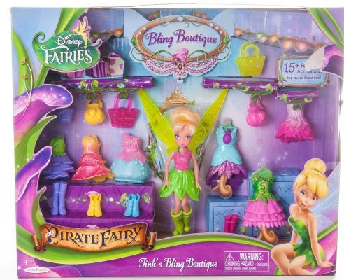 """Игровой набор Disney Disney Fairies """"Бутик"""" Фея с аксессуарами 11 см 76266"""