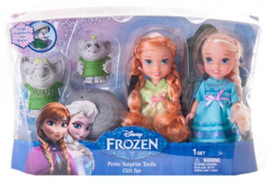 Игровой набор — Холодное Сердце - 2 куклы и тролли 15 см