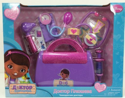 Игровой набор DISNEY Доктор Плюшева Чемоданчик доктора 8 предметов 90120 доктор плюшева игровой набор с куклой время осмотра цвет халата сиреневый