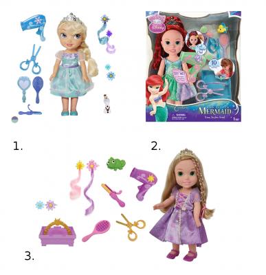 Купить Игровой набор Disney Принцессы Дисней Стилист 4893984757222 в ассортименте