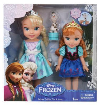 Игровой набор — Холодное сердце - 2 куклы и Олаф