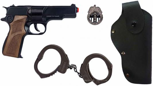 Набор Gonher Полиция черный