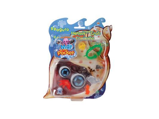 Купить Игровой набор Giochi Preziosi Рак-отшельник Пагуро от 4 лет 9 предметов GPH01283, для девочки, Прочие игровые наборы