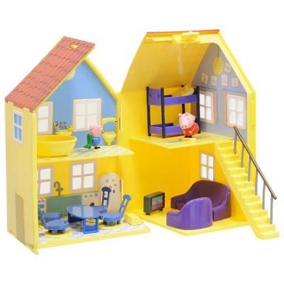 Игровой набор Peppa Pig Домик Пеппы 15553 peppa pig игровой набор дом пеппы с садом 31611