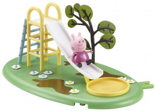 Игровой набор Peppa Pig Игровая площадка: горка Пеппы от 3 лет 28774 игровой набор peppa pig игровая площадка горка пеппы 28774