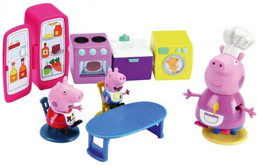 Игровой набор Peppa Pig Кухня Пеппы 11 предметов 15560 peppa pig транспорт 01565