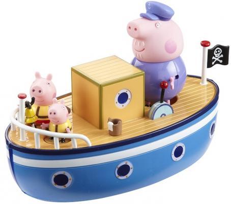 Игровой набор Peppa Pig Морское приключение, без мелков 4 предмета 15558