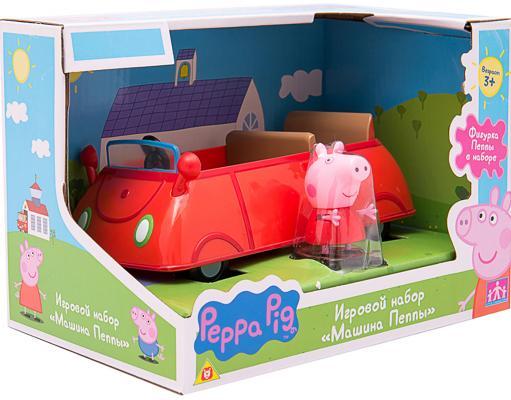 Игровой набор Peppa Pig Машина Пеппы 2 предмета 19068 фигурка peppa pig неваляшка папа пеппы 28798