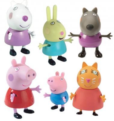 Игровой набор Peppa Pig Пеппа и друзья от 3 лет 6 предметов 24312