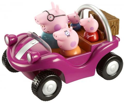 Игровой набор Peppa Pig Спортивная машина от 3 лет 24068 peppa pig игровой набор спортивная машина 24068 4 фигурки