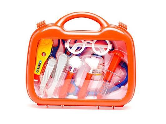 Набор доктора PLAYGO в чемоданчике 12 предметов 2930 ролевые игры playgo игровой набор для приготовления хот догов делюкс