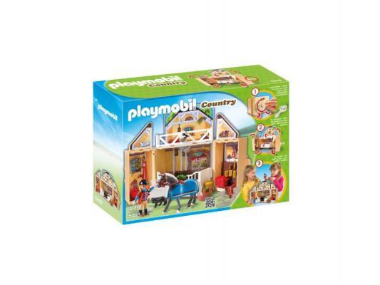 Игровой набор Playmobil Возьми с собой Конюшня