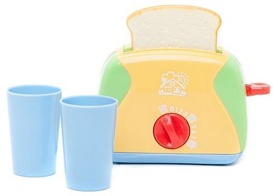 Тостер Playgo Игровой набор бытовой техники с тостером ролевые игры playgo игровой набор для приготовления хот догов делюкс