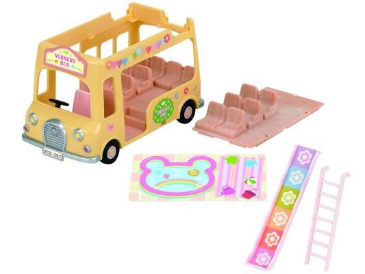Купить Игровой набор Sylvanian Families Двухэтажный автобус для малышей 3588