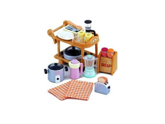 Игровой набор SYLVANIAN FAMILIES Кухонная посуда 30 предметов 2819