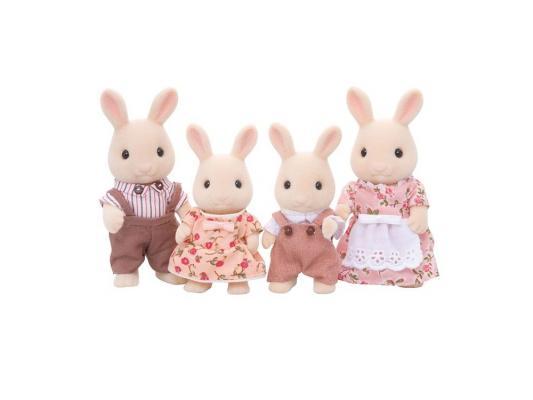 Игровой набор Sylvanian Families Семья Молочных Кроликов 4 предмета 3144