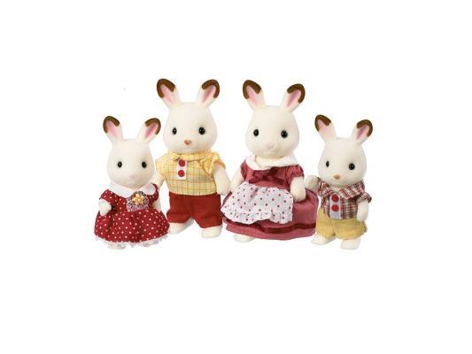 Игровой набор Sylvanian Families Семья Шоколадных Кроликов 4 предмета 3125