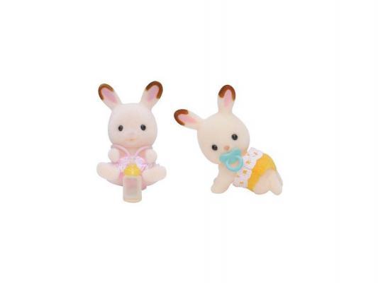 Игровой набор Sylvanian Families Шоколадные Кролики-двойняшки 3217