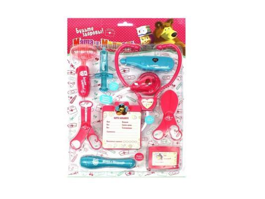Игровой набор Маша и медведь Доктор от 3 лет 9 предметов 1132128 в блистере