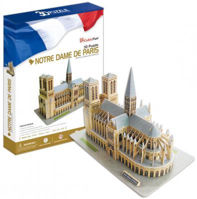 Пазл 3D CubicFun Нотердам де Пари (Франция) 128 элементов MC054H-2