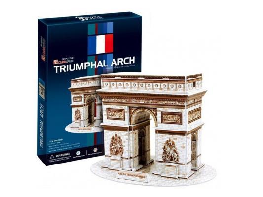 Пазл 3D CubicFun Триумфальная арка (Франция) 26 элементов C045H cubicfun 3d пазл эйфелева башня 2 франция cubicfun 33 детали