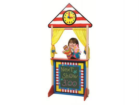 Игровой набор Alex Кукольный театр напольный с доской для мела от 3 лет
