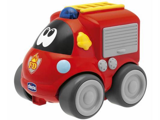 Пожарная машина  радиоуправлении Chicco   пластик от 1 года красный 69025