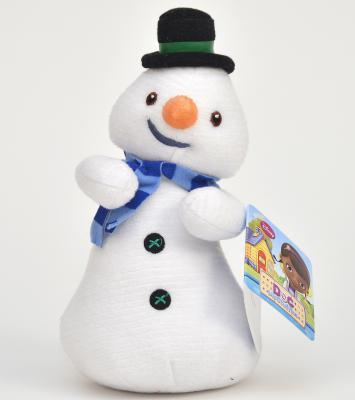 Мягкая игрушка герой мультфильма Disney Снеговик ткань синтепон белый 25 см