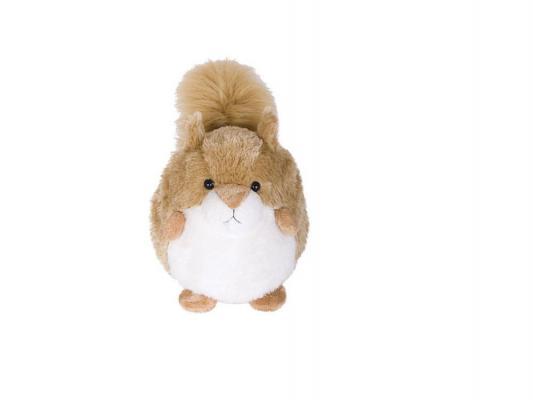 Мягкая игрушка белка Gulliver Пушистый хвостик Белочка (68617) плюш синтепон белый бежевый 30 см