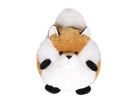 Мягкая игрушка лисица Gulliver Лисичка плюш белый коричневый 30 см