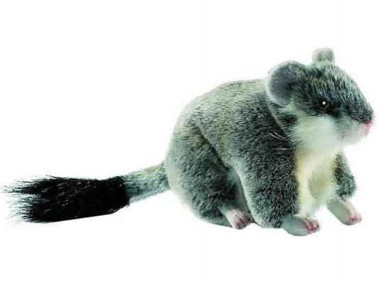 Мягкая игрушка хомячок Hansa Хомячок джунгарский плюш серый 12 см