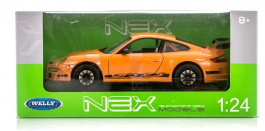 Автомобиль Welly Porsche 911 (997) GT3 RS 1:24 красный