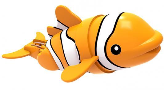 Интерактивная игрушка Lil' Fishys Рыбка-акробат Лакки от 4 лет оранжевый 126211-1