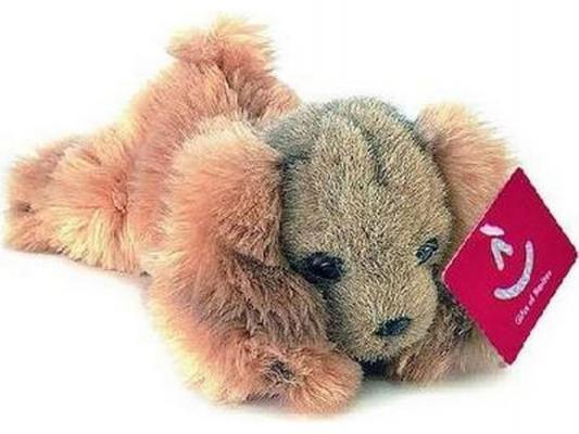 Мягкая игрушка собака Aurora Кокер-спаниель плюш коричневый 25 см