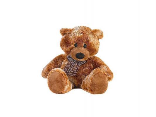 Мягкая игрушка медведь Aurora Медведь коричневый сидячий плюш синтепон коричневый 74 см