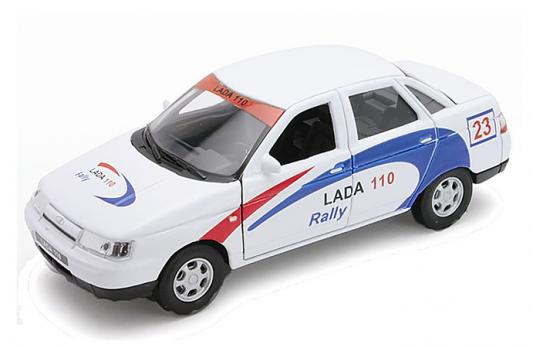 Автомобиль Welly LADA 110 Rally 1:34-39 белый