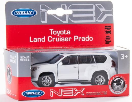 Автомобиль Welly Toyota Land Cruiser Prado 1:34-39 цвет в ассортименте