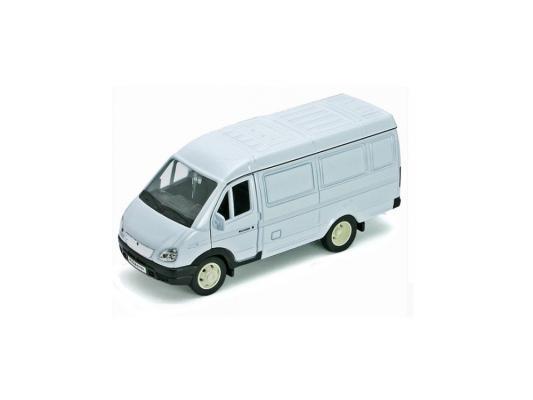 Автомобиль Welly ГАЗель фургон 1:34-39 белый автомобиль welly nissan gtr 1 34 39 белый 43632