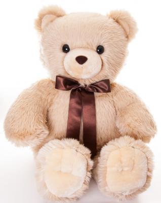 Мягкая игрушка медведь Aurora Медведь плюш синтепон бежевый 100 см