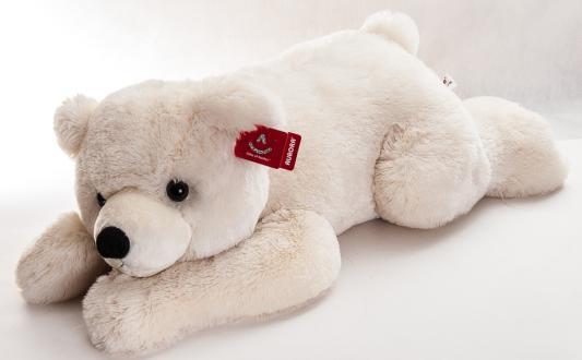 Мягкая игрушка медведь Aurora Медведь белый плюш синтепон белый 100 см