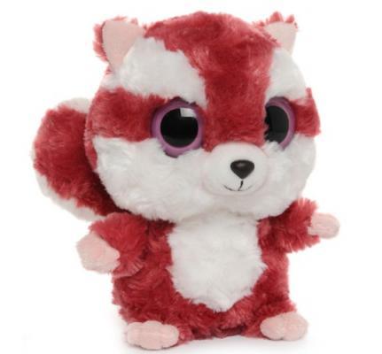 Мягкая игрушка герой мультфильма Aurora Красная Белка плюш синтепон красный белый 20 см