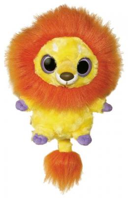 Мягкая игрушка лев AURORA Юху и друзья плюш желтый 20 см