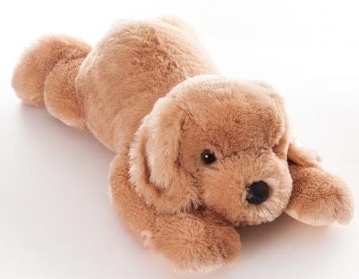 Мягкая игрушка щенок Aurora Ретривер текстиль коричневый 70 см 45-702
